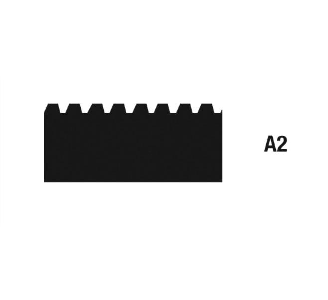 Geležtės klijams tepti A2 28 cm, 10 vnt. WOLFF