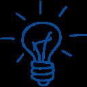 light bulb outlined hand drawn tool1 Adrijus