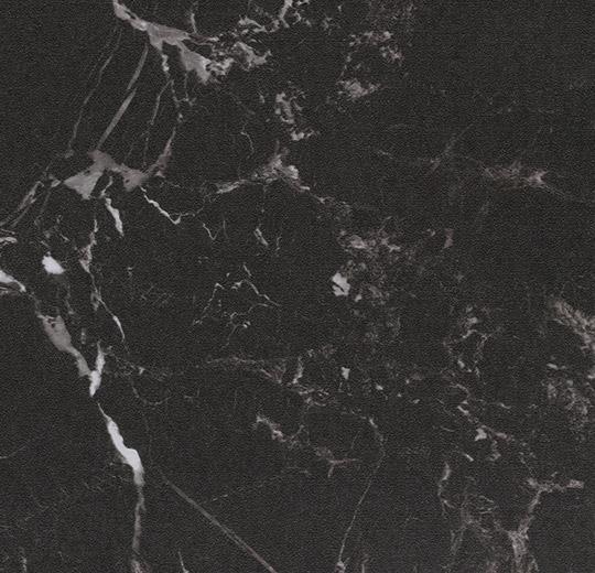 Vinilinės grindys plytelėmis Forbo Allura Material black marble (50x50 cm)