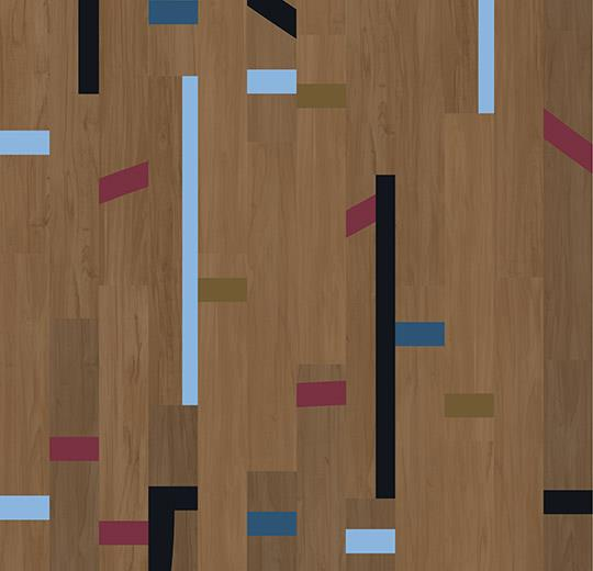 Vinilinės grindys lentelėmis Forbo Allura Wood dark vintage gymfloor