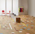 Vinilinės grindys lentelėmis Forbo Allura Wood light vintage gymfloor