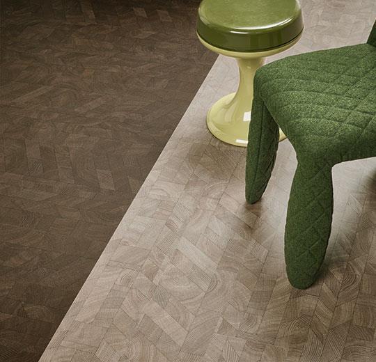 Vinilinės grindys lentelėmis Forbo Allura Wood dark graphic wood