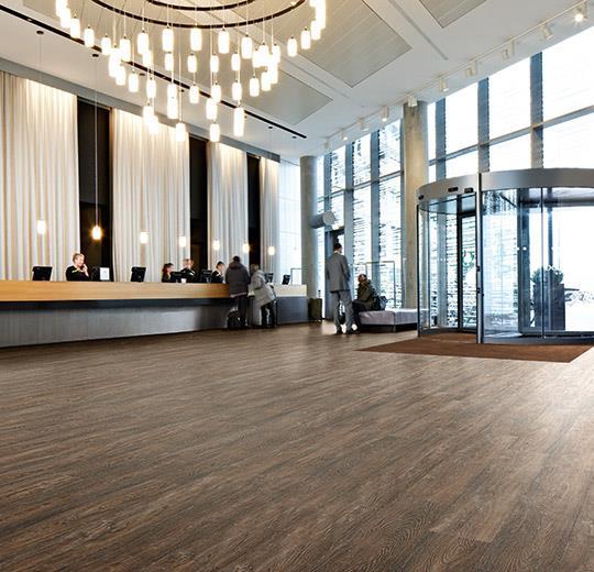 Vinilinės grindys lentelėmis Forbo Allura Wood brown raw timber