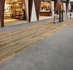 Vinilinės grindys plytelėmis Forbo Allura Puzzle iron cement