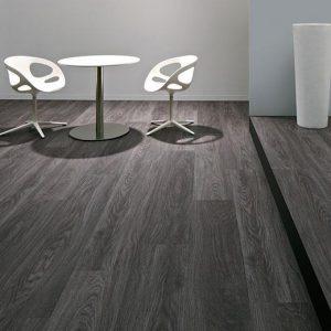 Vinilinės grindys lentelėmis Forbo Allura Wood anthracite weathered oak