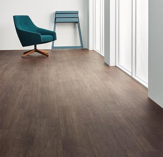 Vinilinės grindys lentelėmis Forbo Allura Wood chocolate collage oak