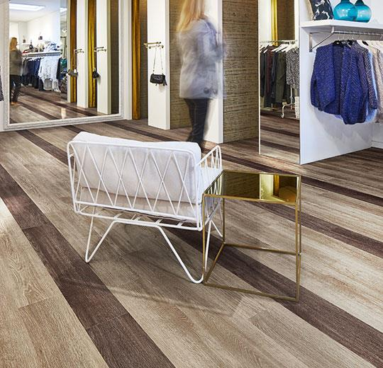 Vinilinės grindys lentelėmis Forbo Allura Wood natural collage oak