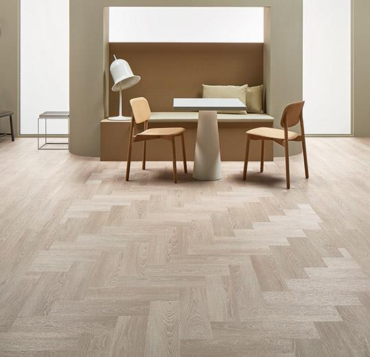Vinilinės grindys lentelėmis Forbo Allura Click Pro bleached timber