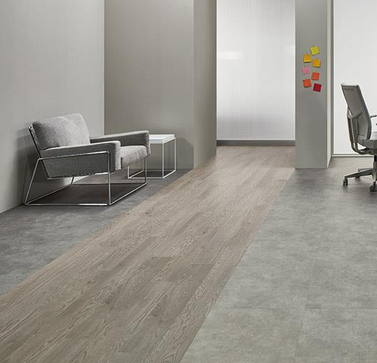Vinilinės grindys lentelėmis Forbo Allura Click Pro grey waxed oak