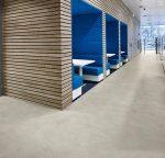Vinilinės grindys plytelėmis Forbo Allura Click Pro light cement