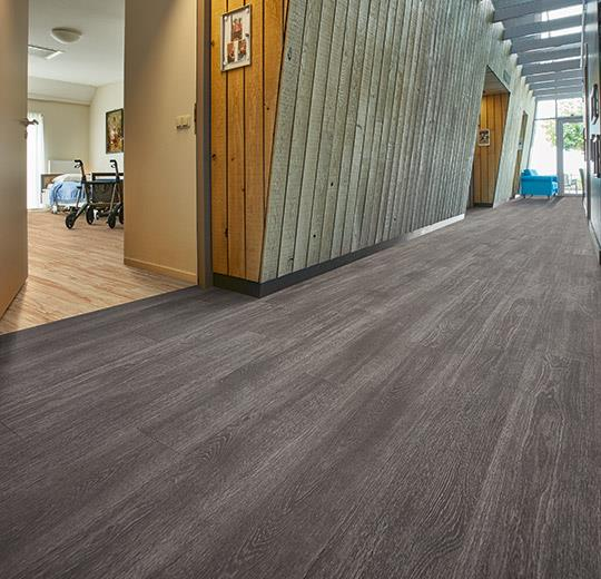 Vinilinės grindys lentelėmis Forbo Allura Click Pro grey collage oak