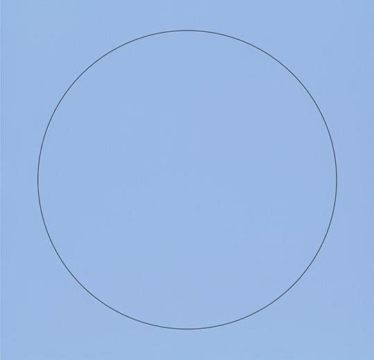 Vinilinės grindys plytelėmis Forbo Allura Material azur circle