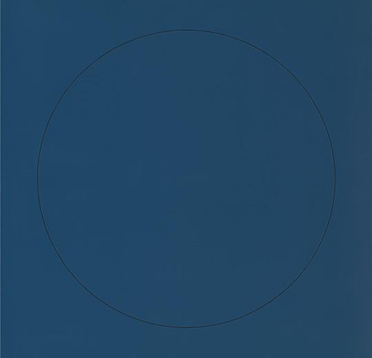 Vinilinės grindys plytelėmis Forbo Allura Material denim circle