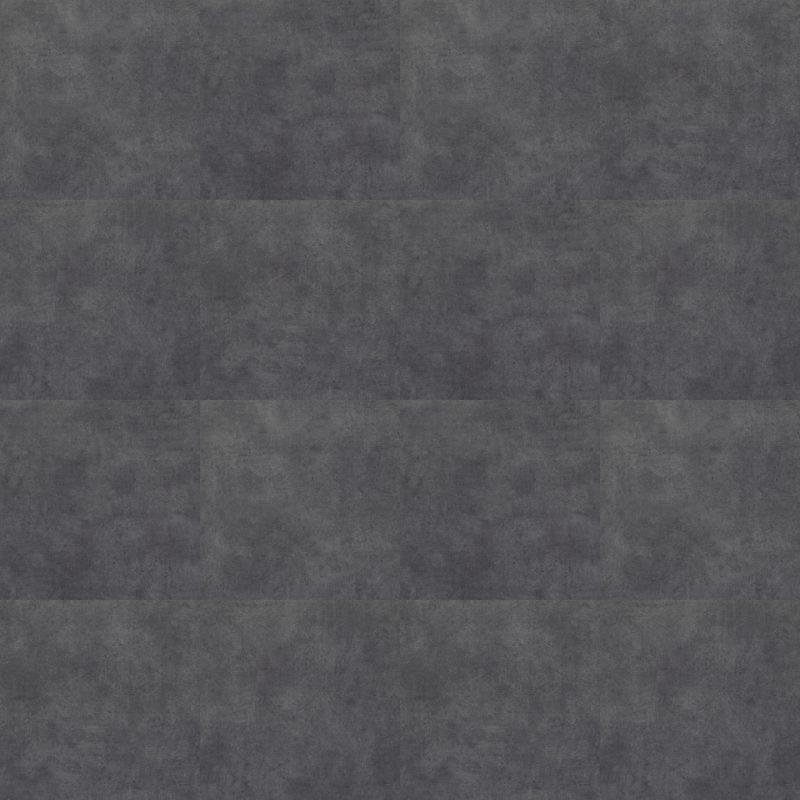 Vinilinės grindys plytelėmis Forbo Allura Click Pro charcoal concrete