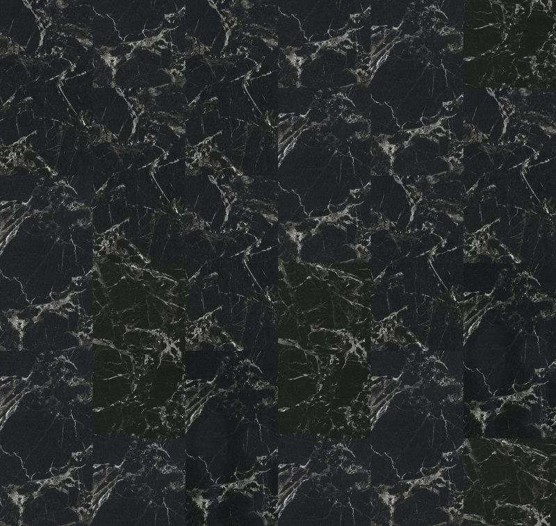 Vinilinės grindys plytelėmis Forbo Allura Click Pro black marble