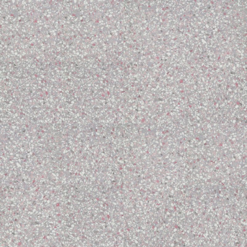 Vinilinės grindys plytelėmis Forbo Allura Material pink terrazzo