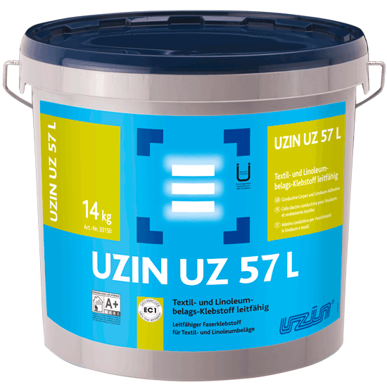Elektrai laidūs klijai kiliminei dangai ir linoleumui UZIN UZ 57 L