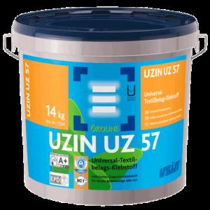 Universalus tekstilinių grindų dangų klijai UZIN UZ 57