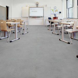 Vinilinės grindys plytelėmis Forbo Allura Puzzle grey cement