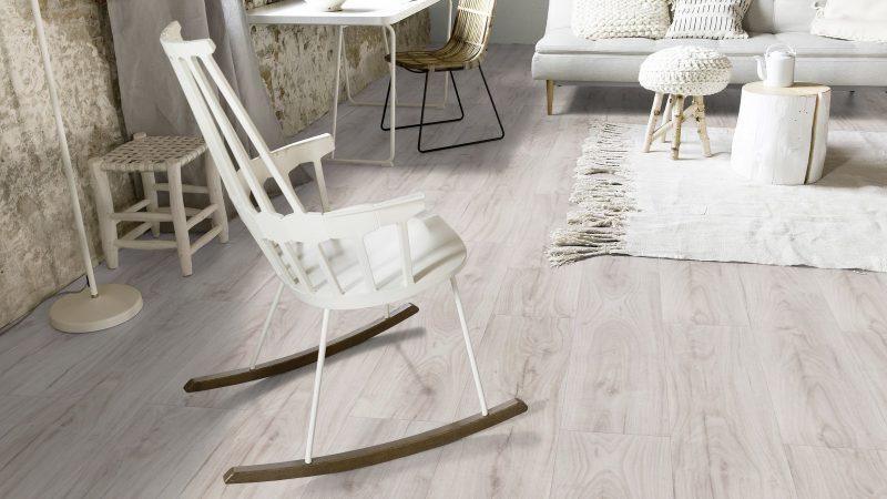 Vinilinės grindys lentelėmis Forbo Allura Click Pro whitened oak