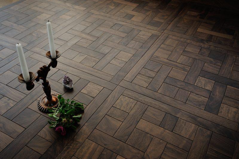 Parketas COSWICK Mosaic Cheverny Classic Amerikietiškas riešutas