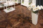 Parketas COSWICK Mosaic Versailles Amerikietiškas riešutas