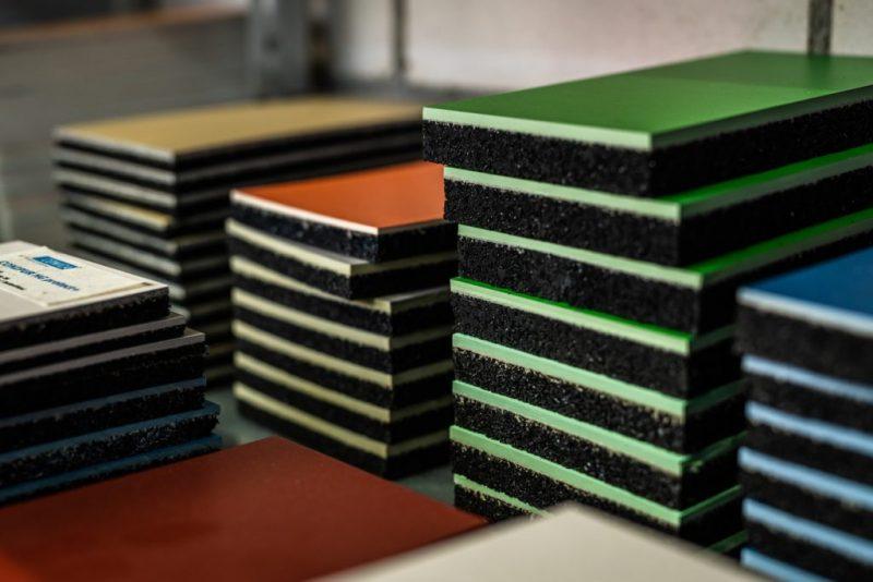 Guminis granulių paklotas vidaus grindims   CONIFLOOR matt (G20)